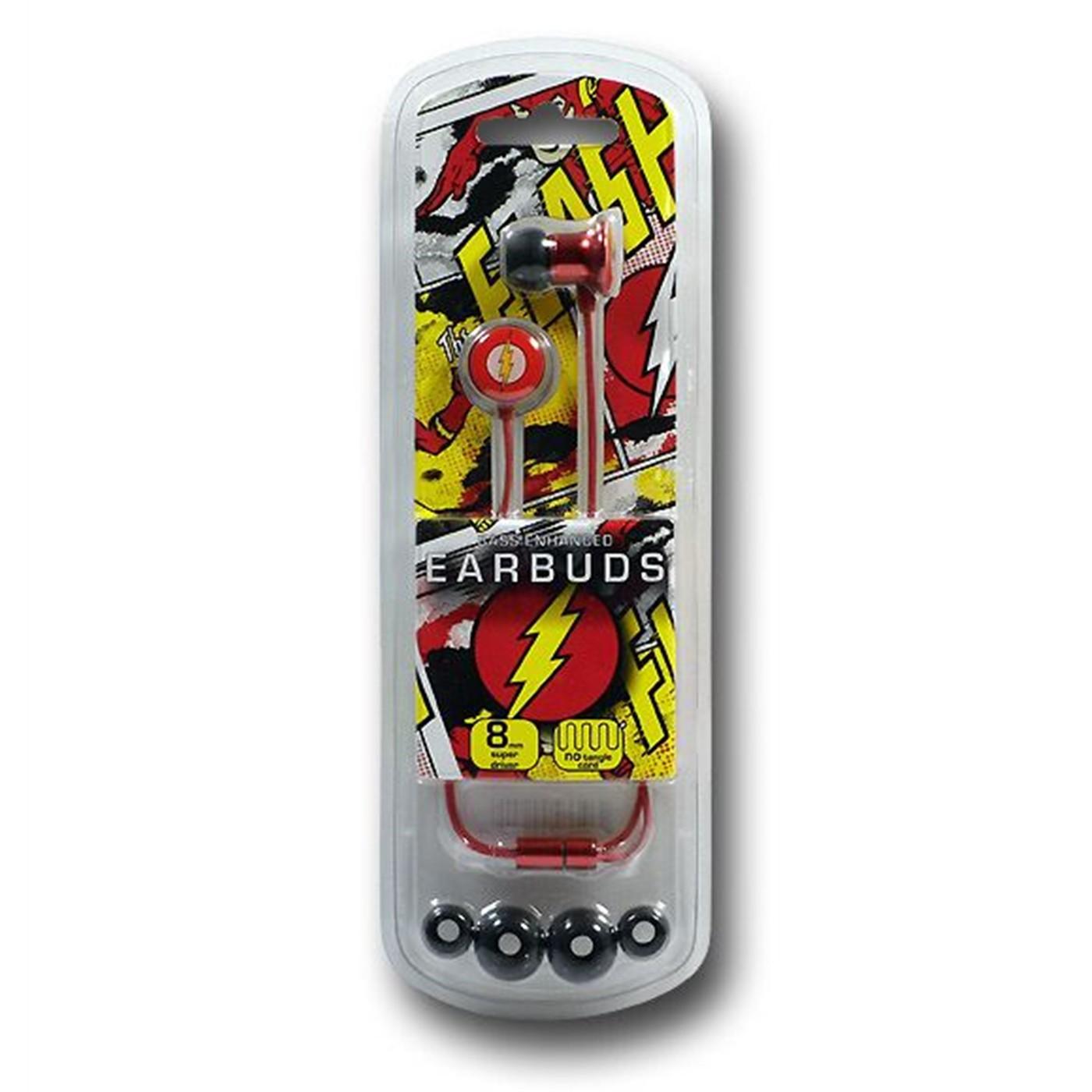 Flash Symbol Metal Earbuds