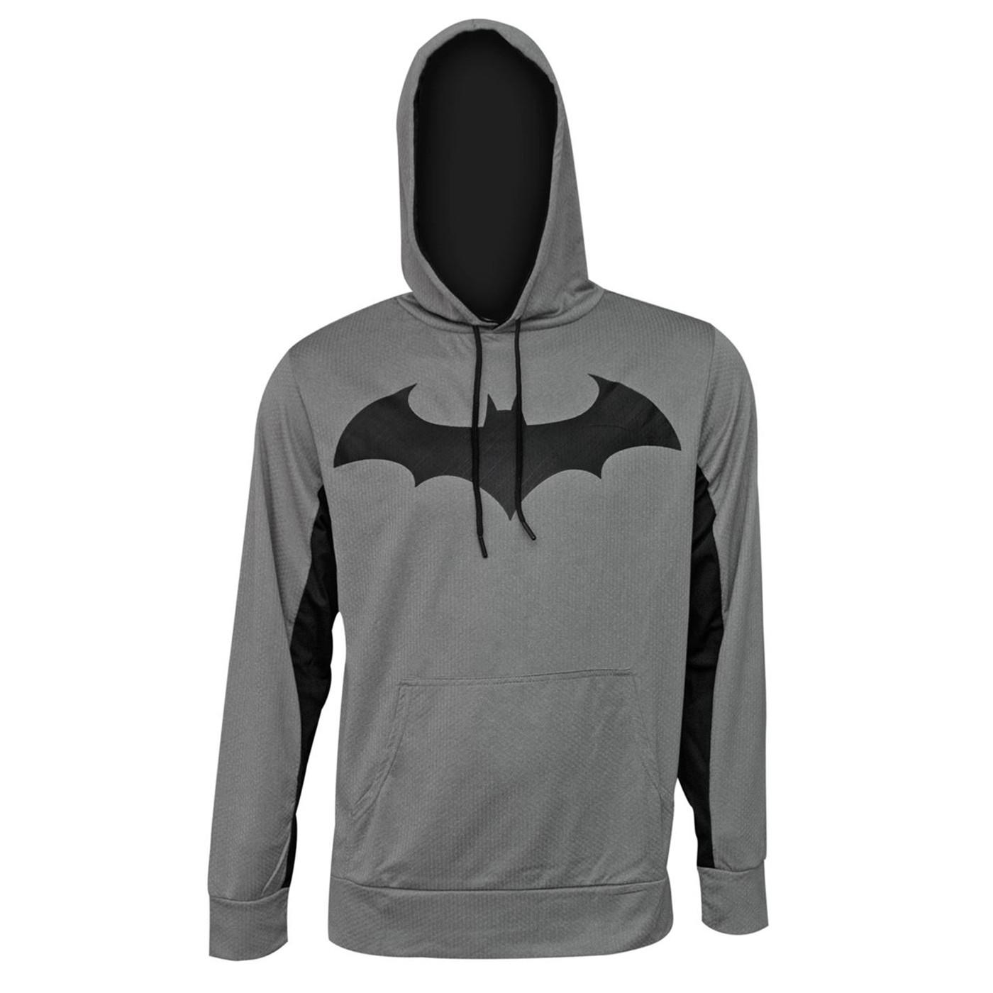 Batman Hush Symbol High Def Ink Men's Hoodie
