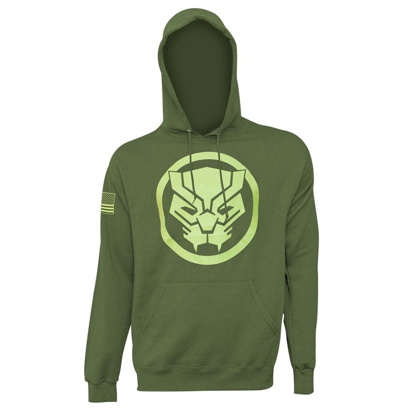 new style 2433a fa080 Black Panther Salute to Service Men's Hoodie