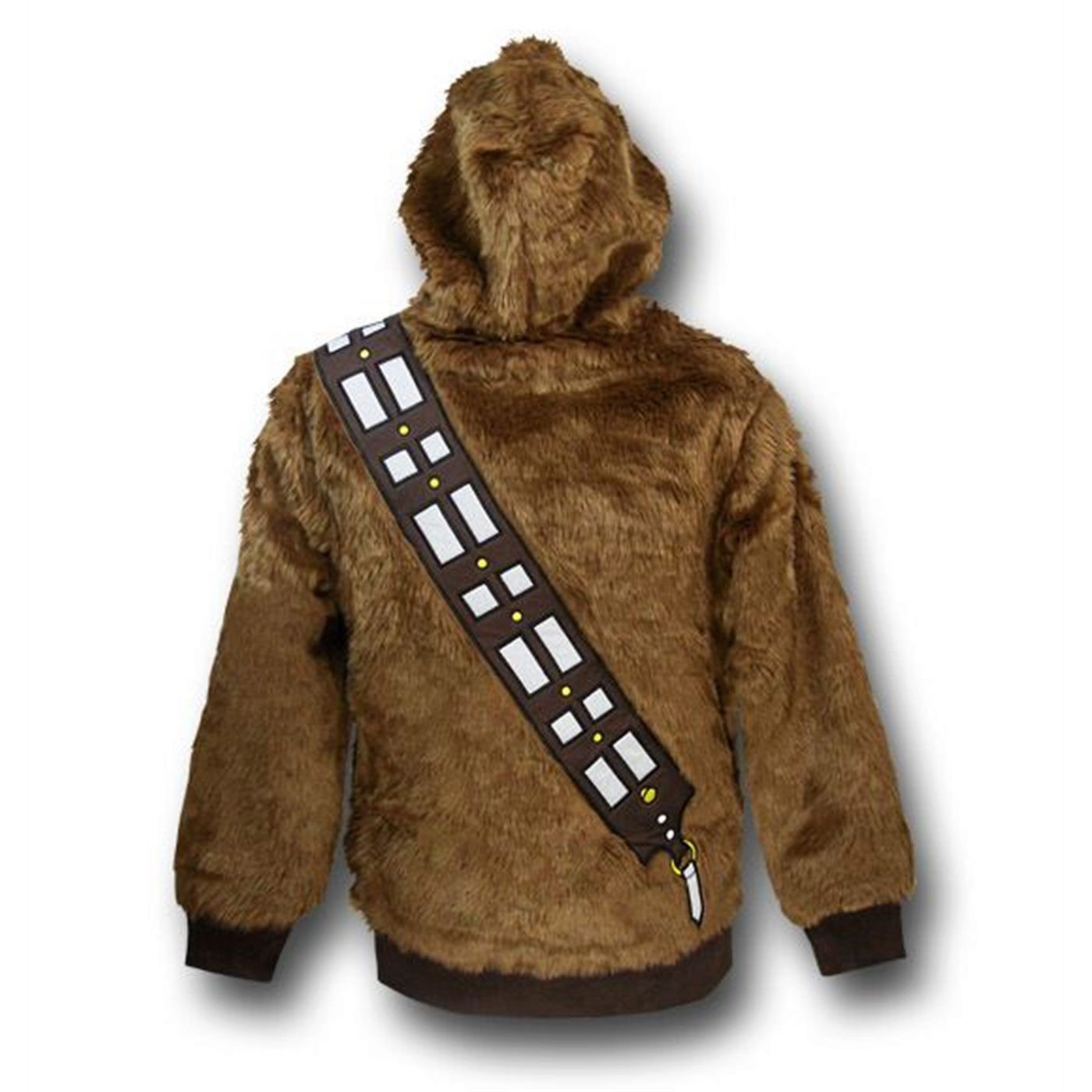 Chewbacca Costume Zip-Up Hoodie