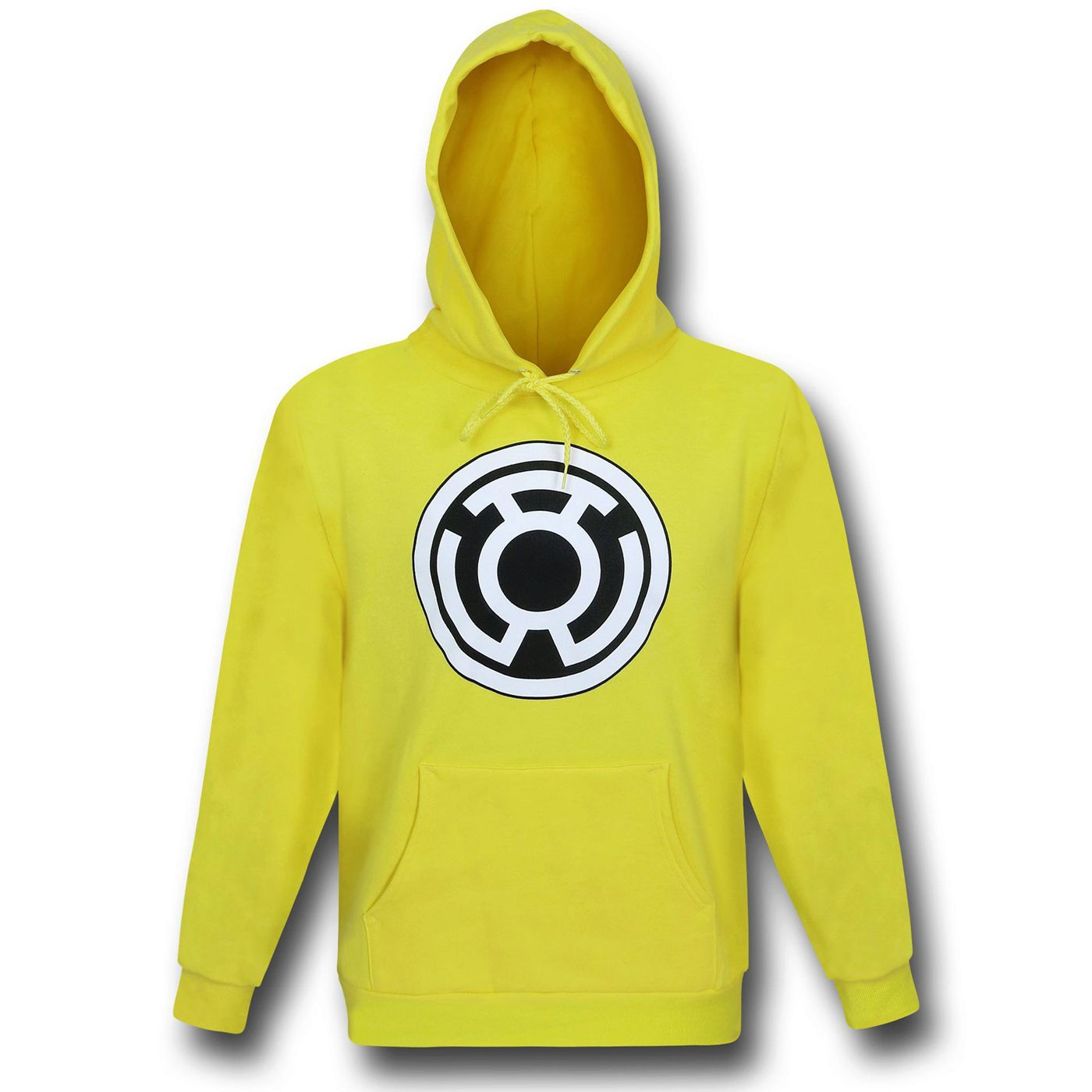 Green Lantern Sinestro Corps Yellow Pullover Hoodie