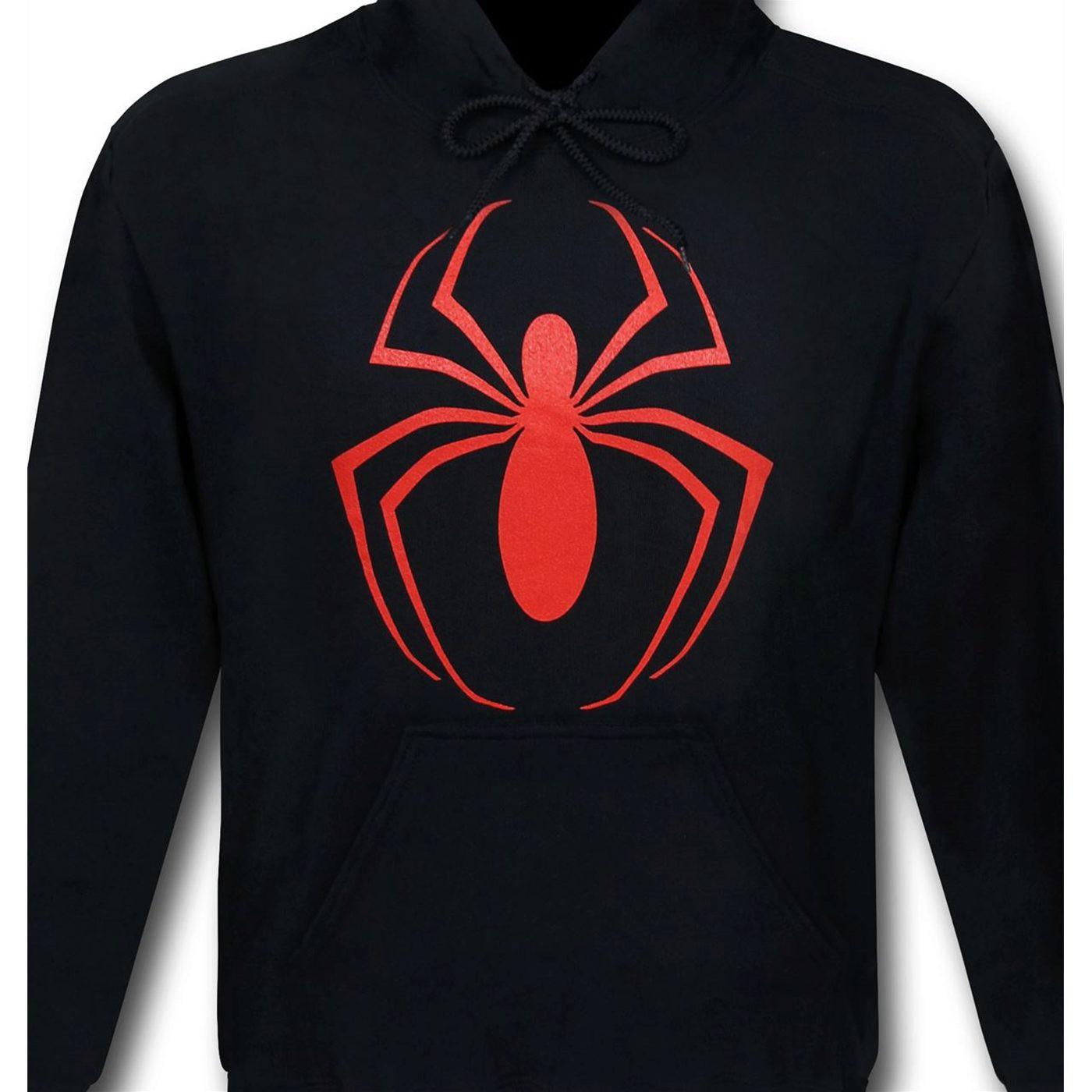 Ultimate Spiderman Symbol Men's Hoodie