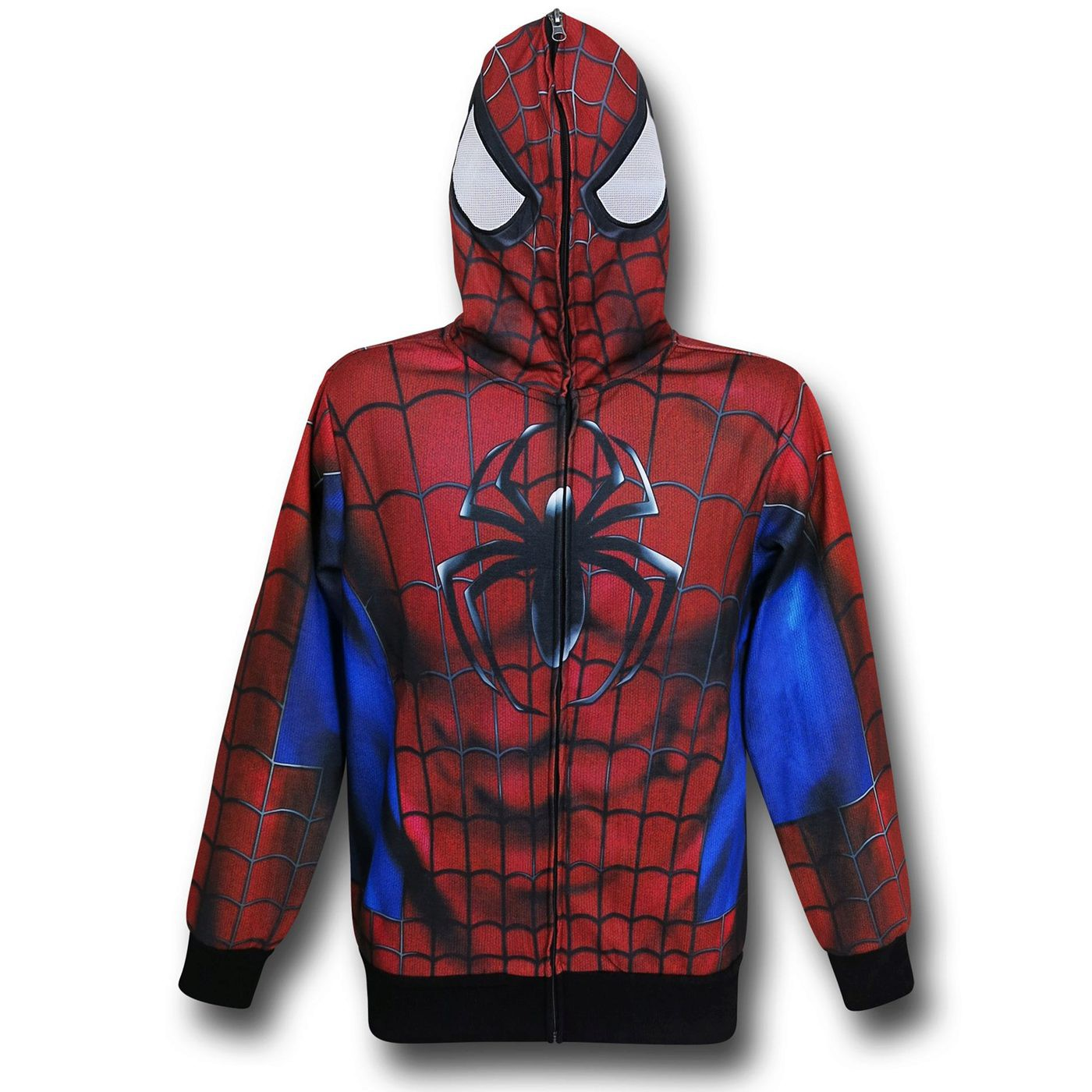 Spider-Man Lightweight Sublimated Costume Hoodie