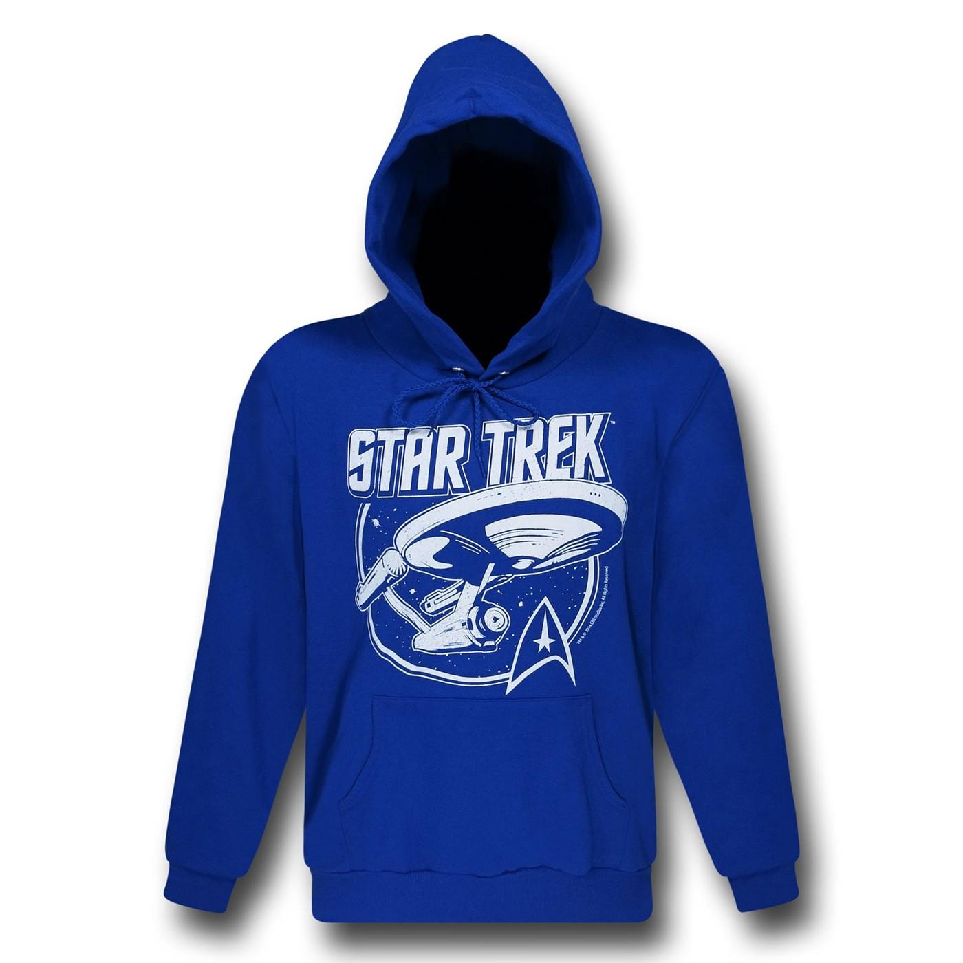 Star Trek Enterprise Blue Hoodie
