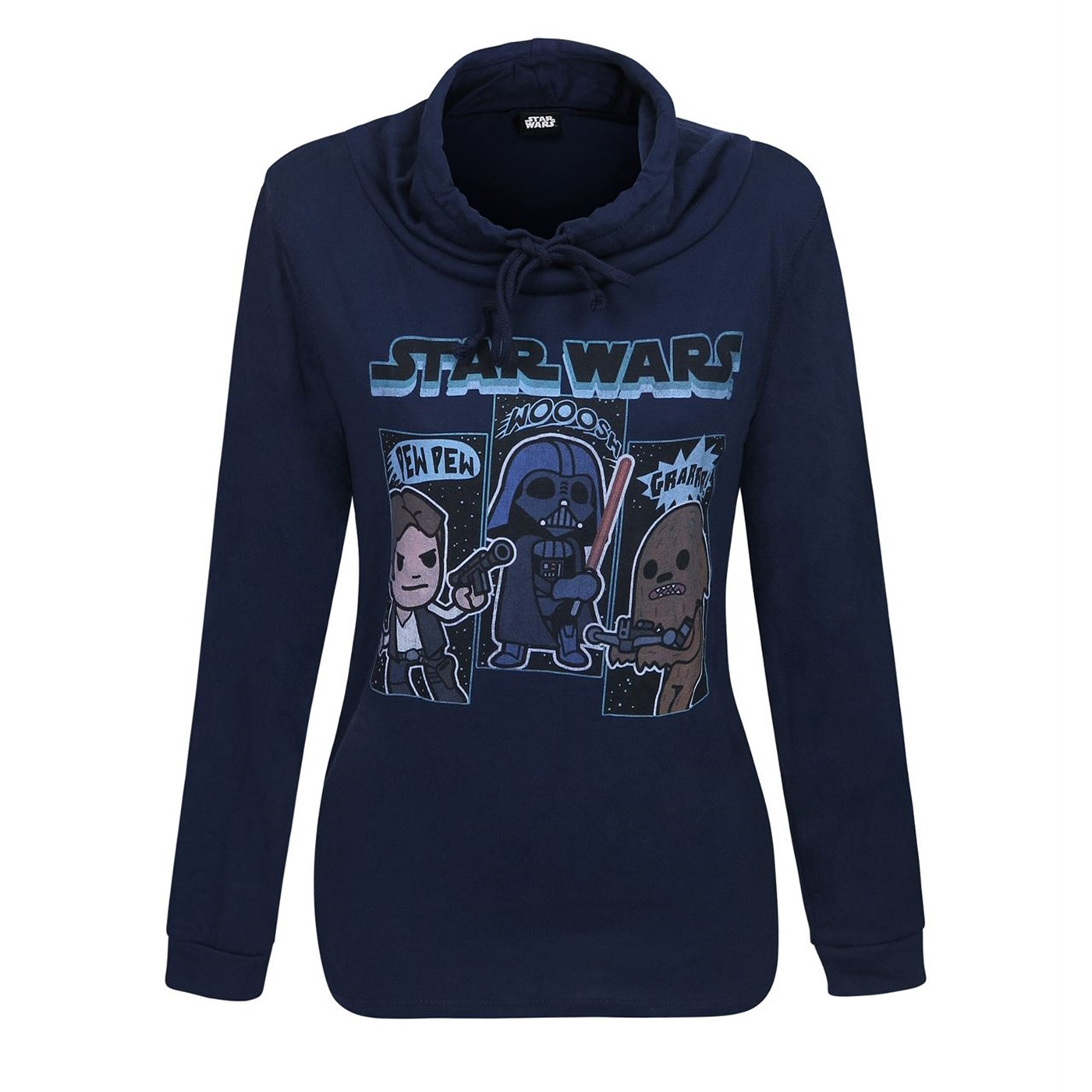 Star Wars Sound Effects Women's Cowl Sweatshirt