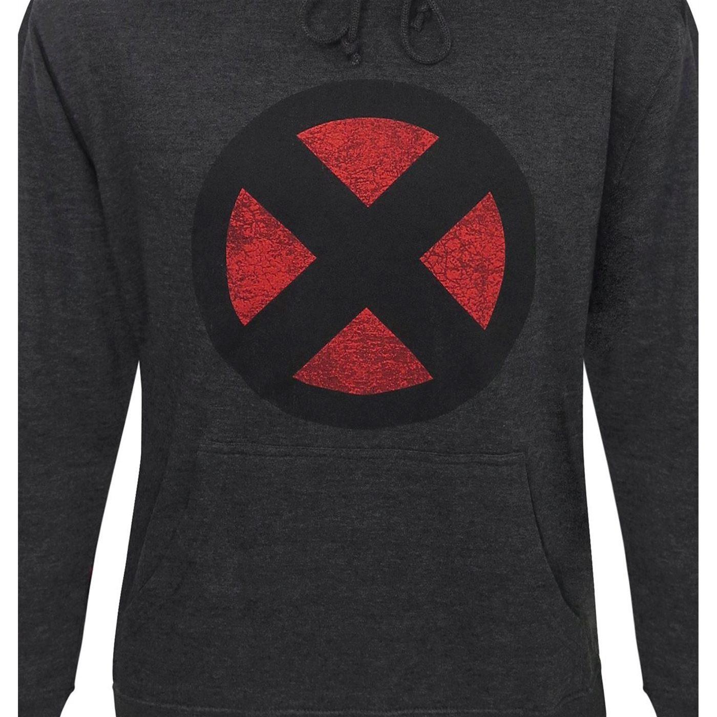 X-Men Distressed Symbol Men's Hoodie