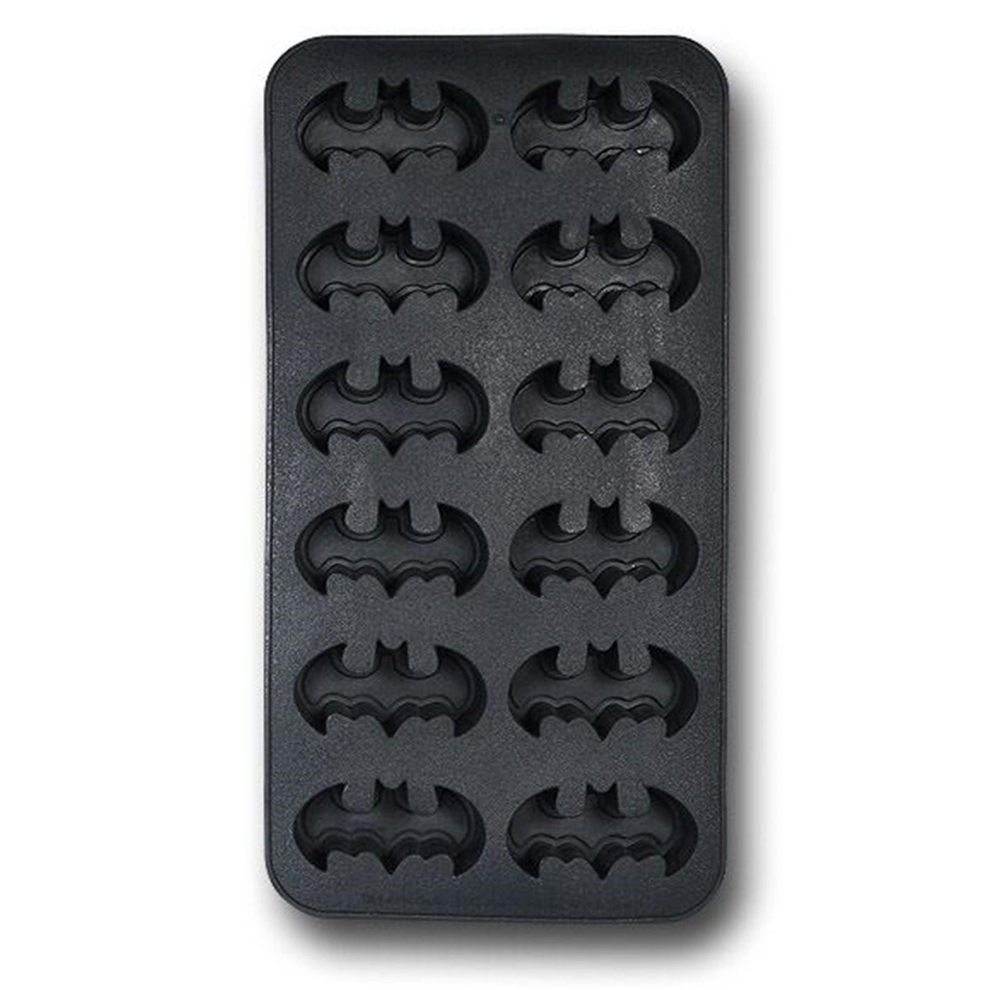 Batman Symbols Ice Cube Tray