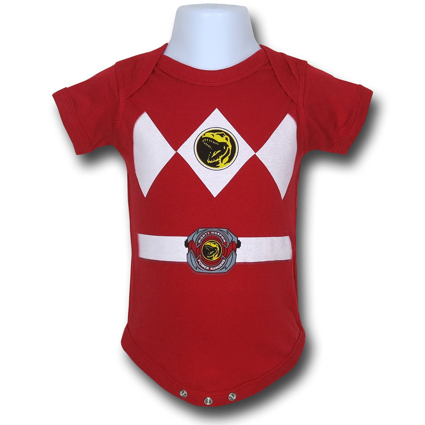 Power Rangers Red Infant Snapsuit