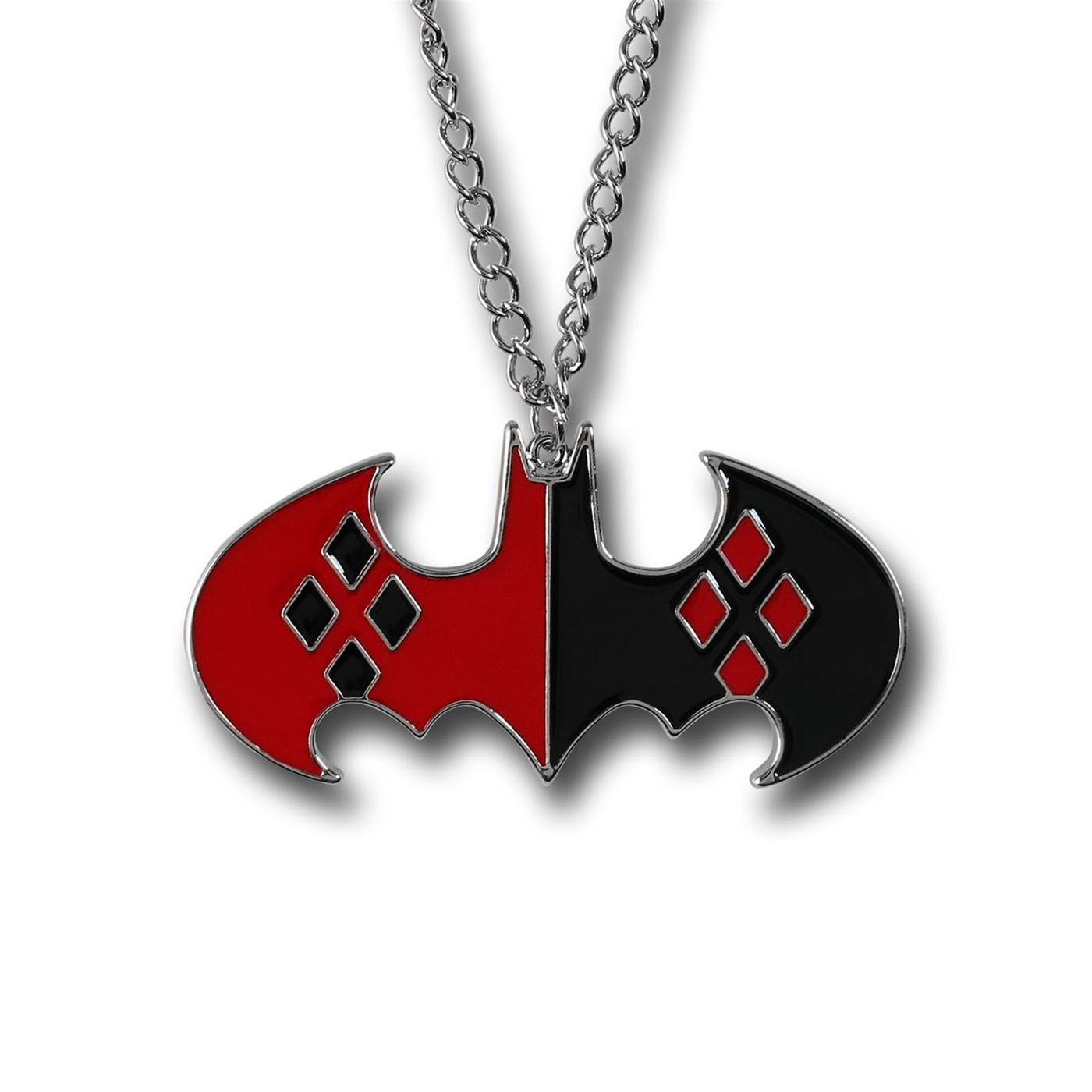 Harley Quinn Symbol Pendant Necklace