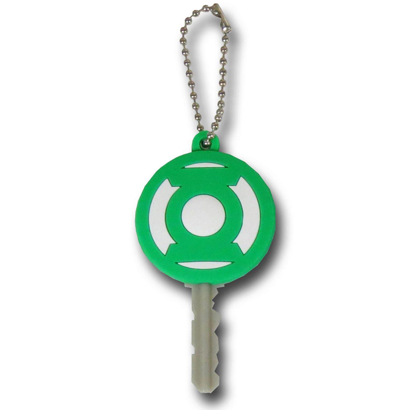 Green Lantern Symbol Keyholder Keychain