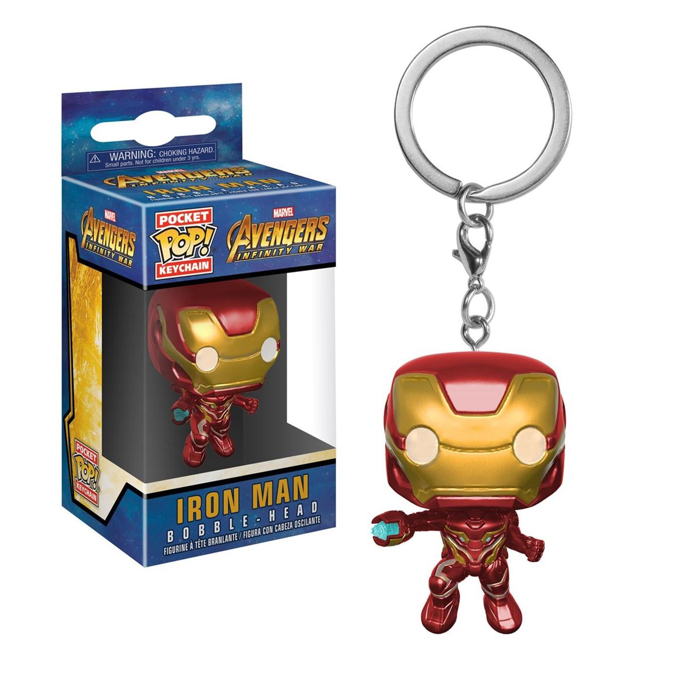 Infinity War Iron Man Funko Pocket Pop Keychain
