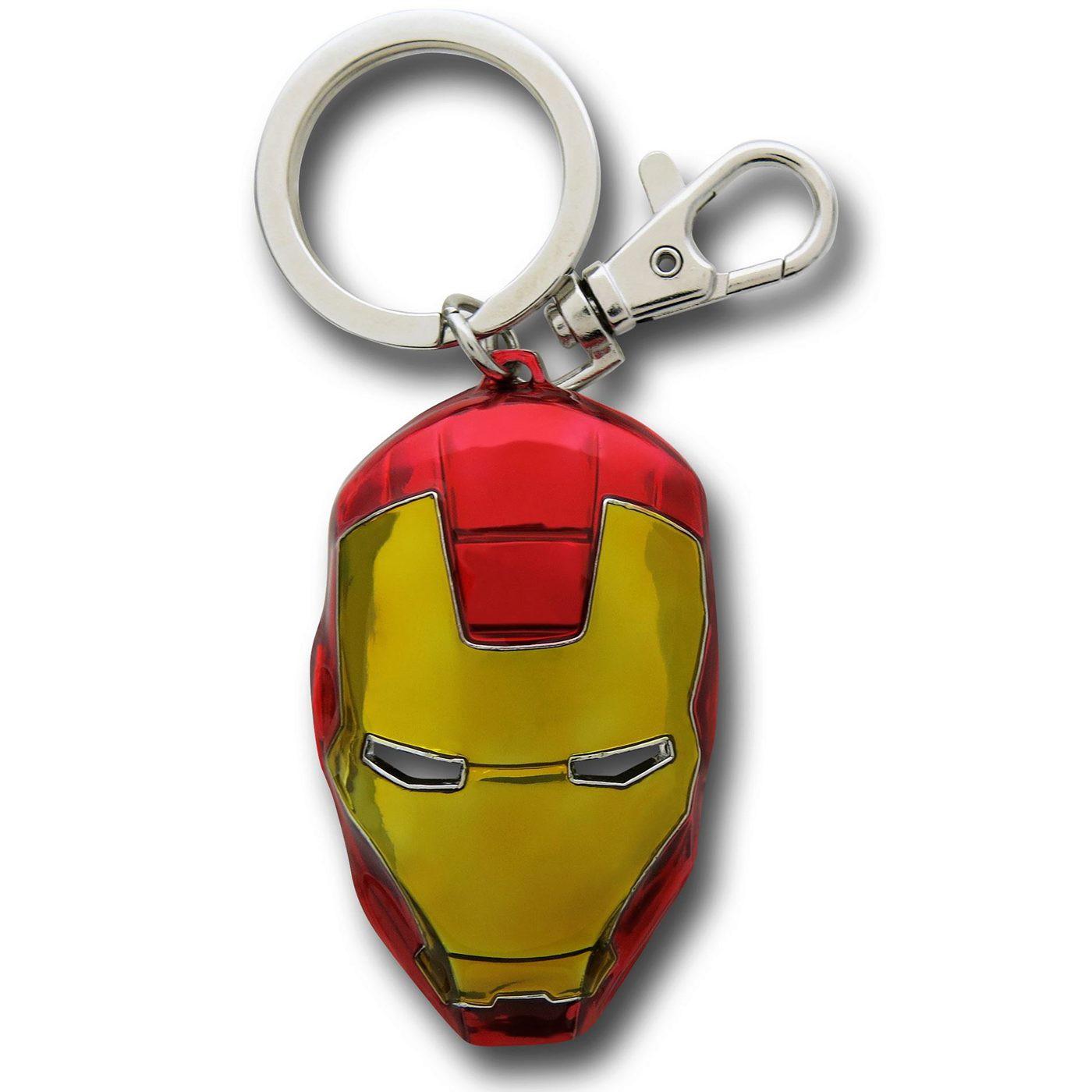 Iron Man Color Head Keychain