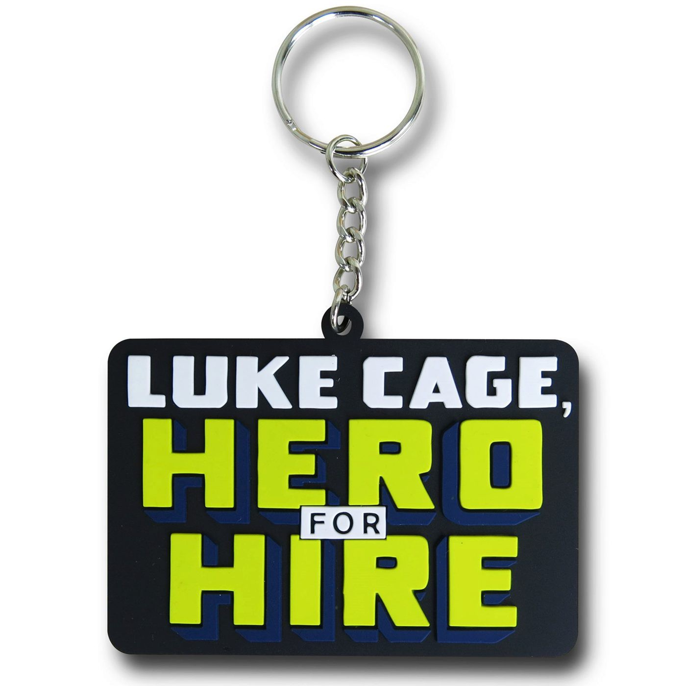 Luke Cage Logo Keychain