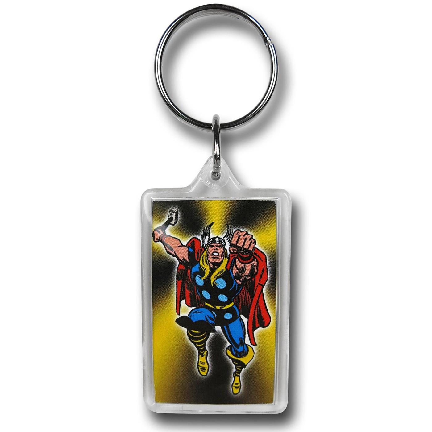 Thor Fist Lucite Keychain
