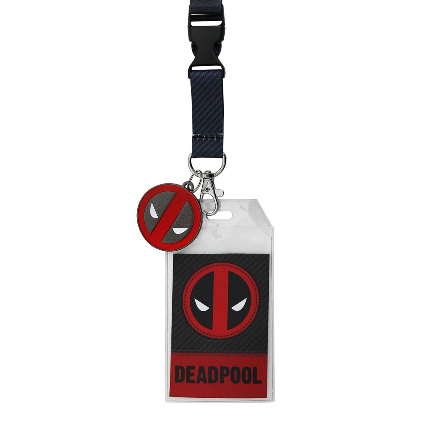 Deadpool Suit Up Lanyard with Metal Charm