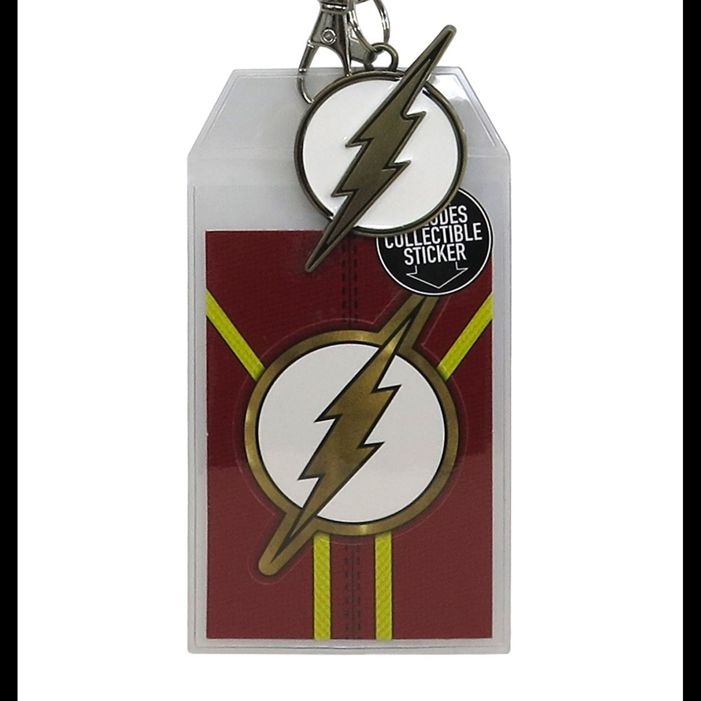 Flash Suit Up Lanyard with Metal Charm