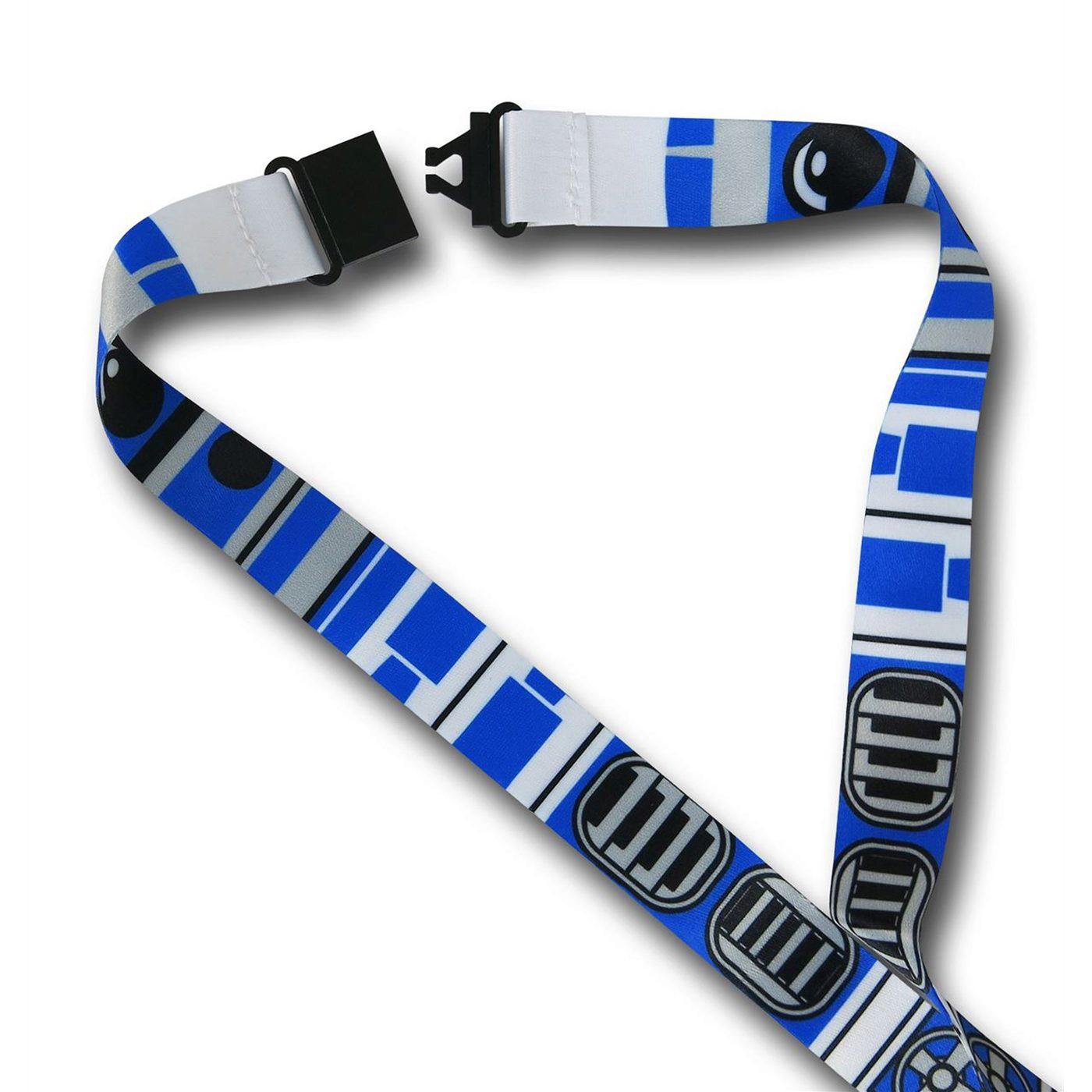 Star Wars R2D2 Costume Lanyard
