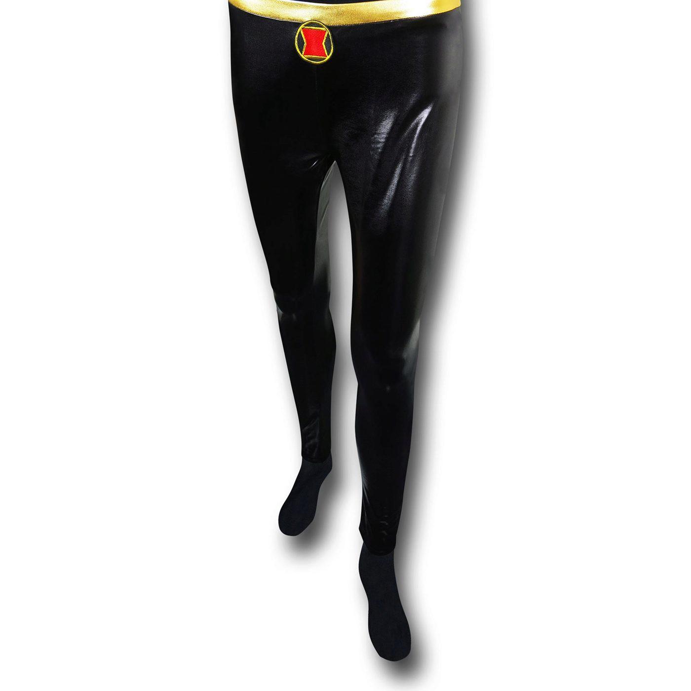 Black Widow Costume Leggings