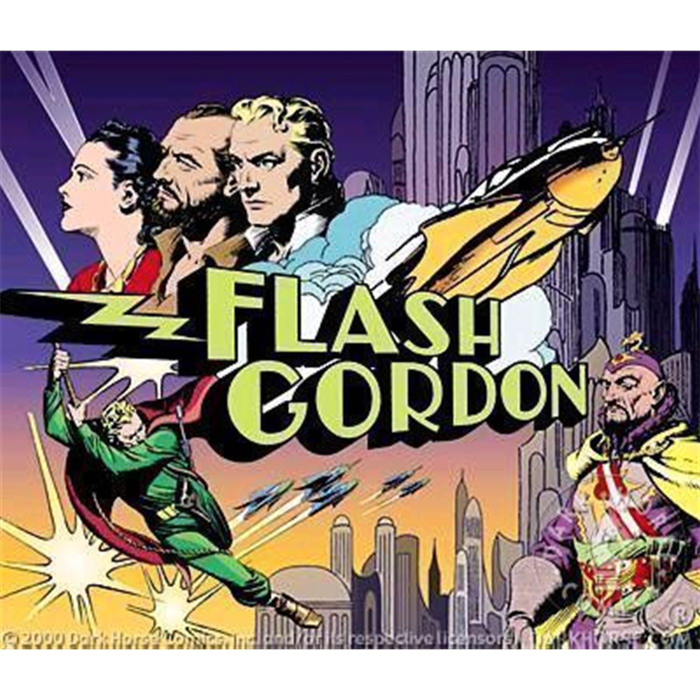 Flash Gordon Lunchbox