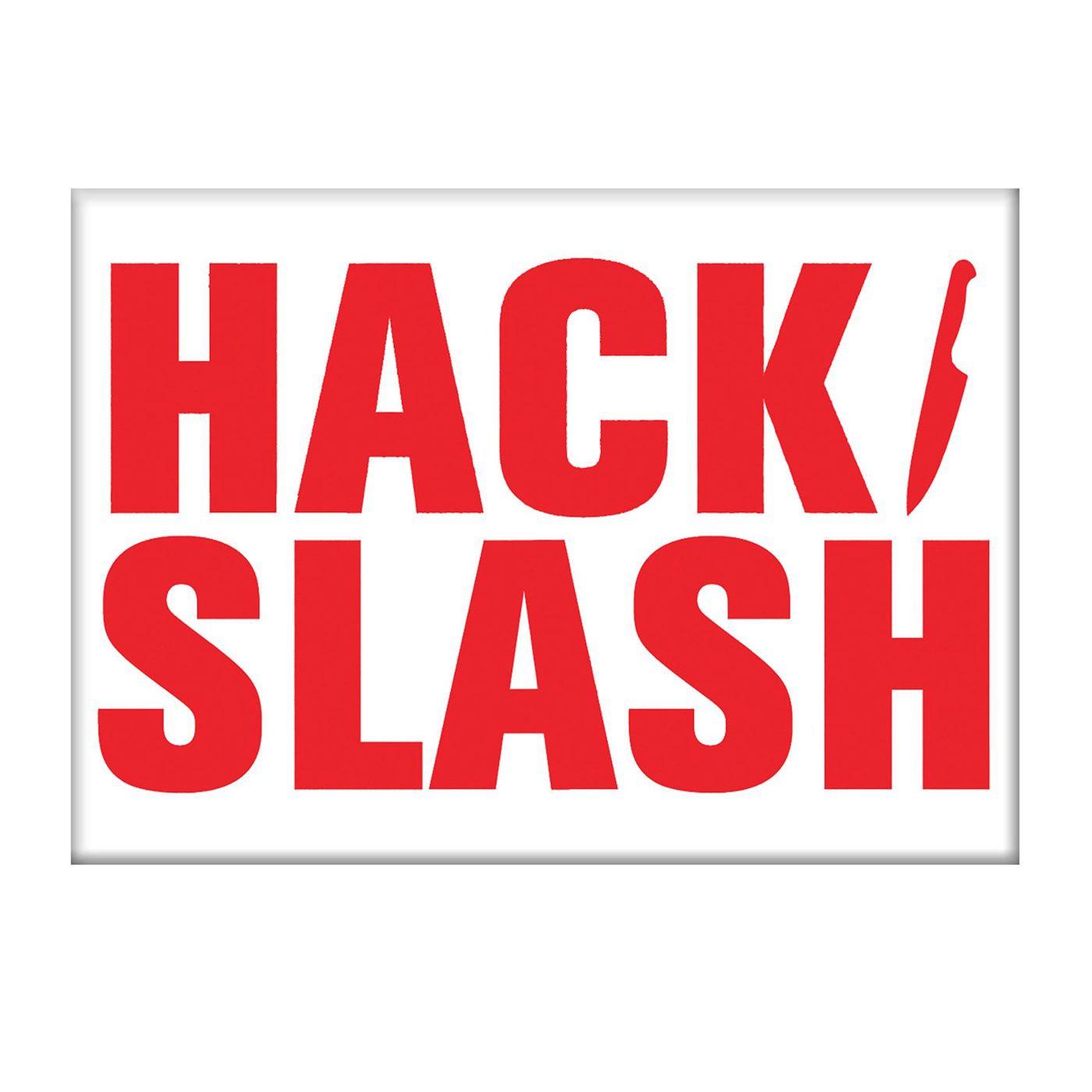 Hack Slash Logo Magnet