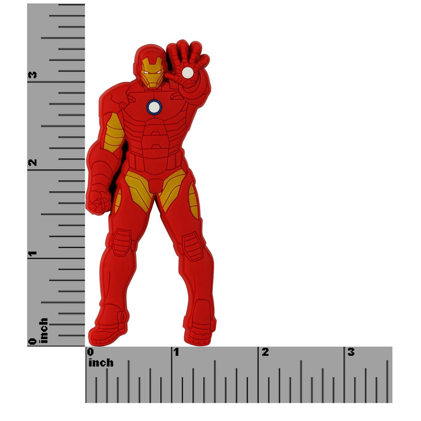 Iron Man Repulsor Ready Soft Touch PVC Magnet