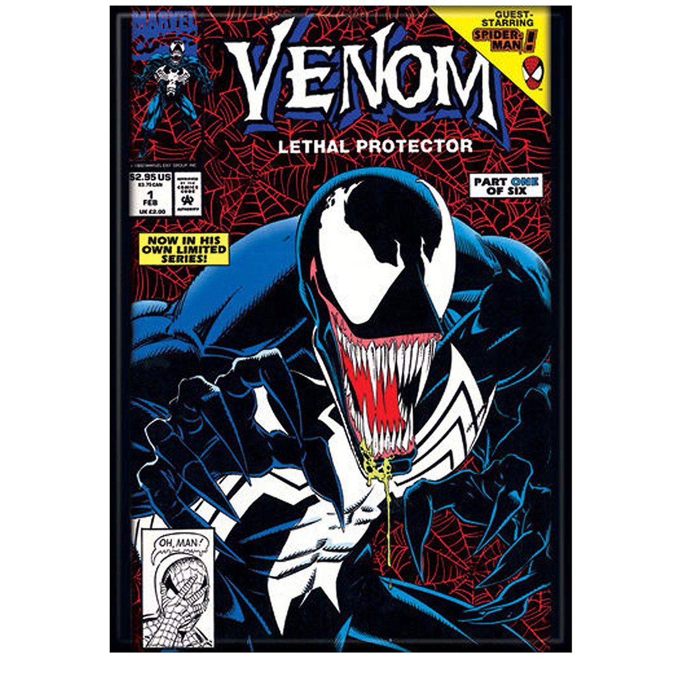 Venom Limited Series #1 Cover Magnet