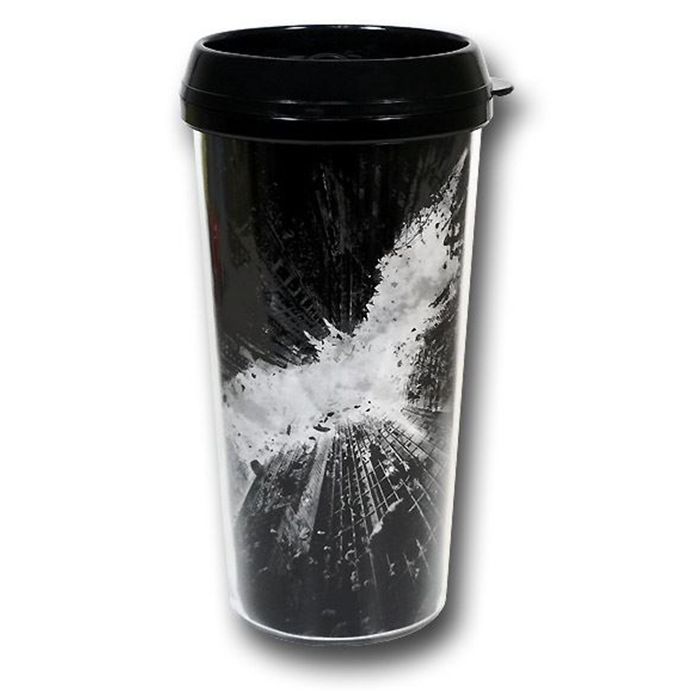 Dark Knight Rises Symbol Travel Mug