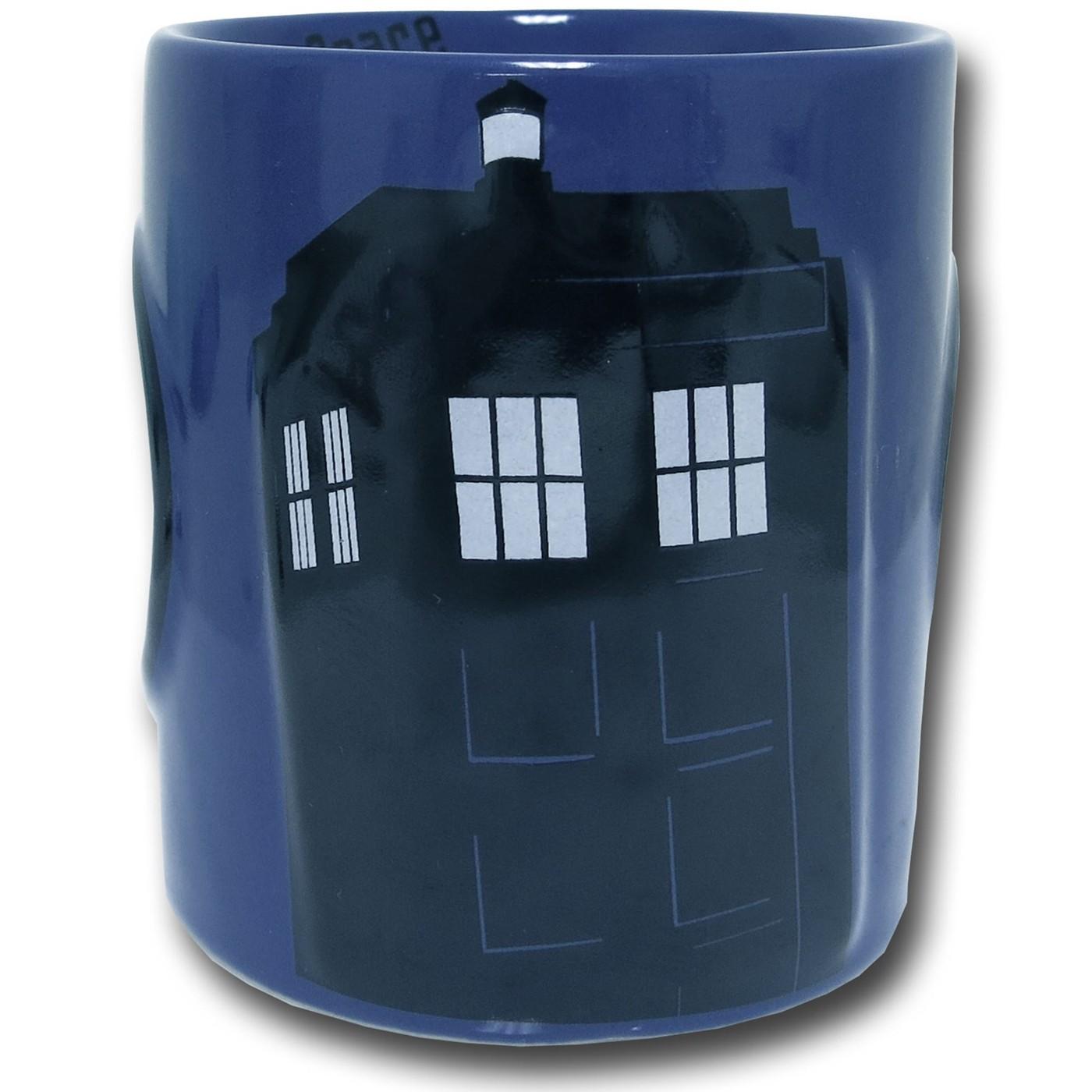 Doctor Who Tardis 2D Relief Mug