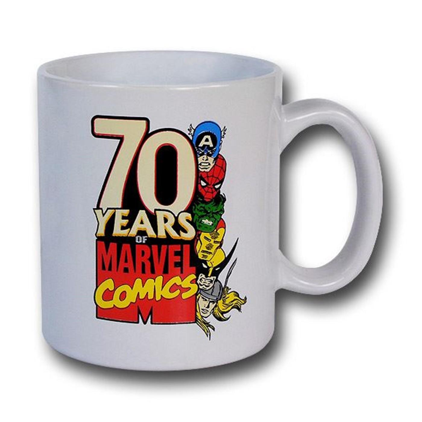Marvel 70 Years Commemorative Mug