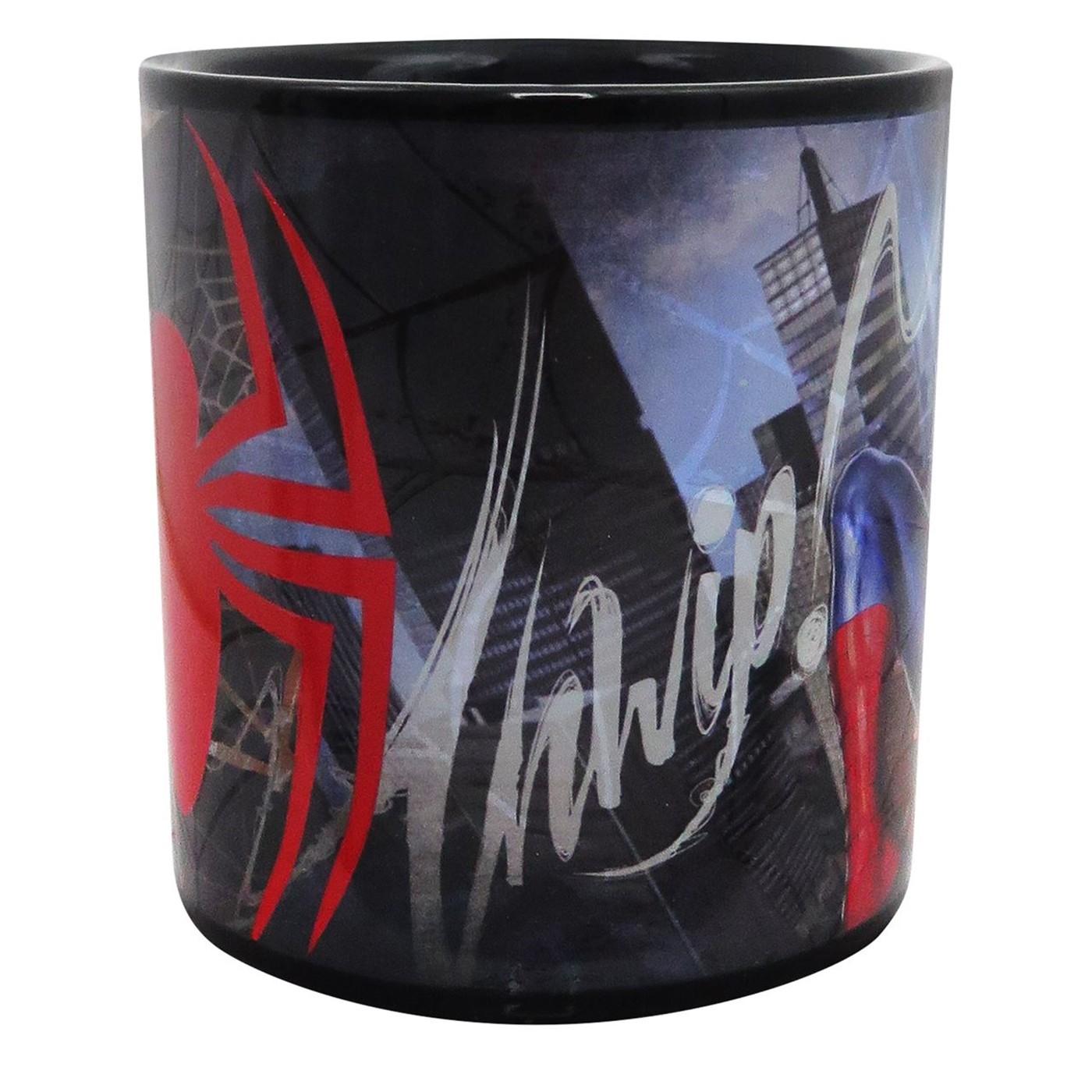 Spider-Man Web Slinger 20oz Heat Changing Mug