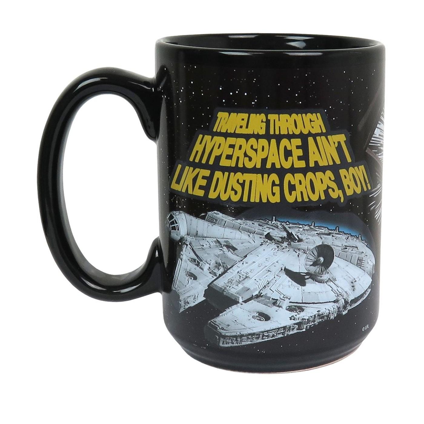 Star Wars Millennium Falcon 15oz Color Change Mug