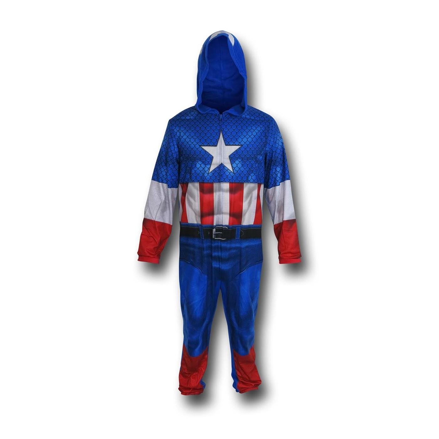 Captain America Sublimated Union Suit