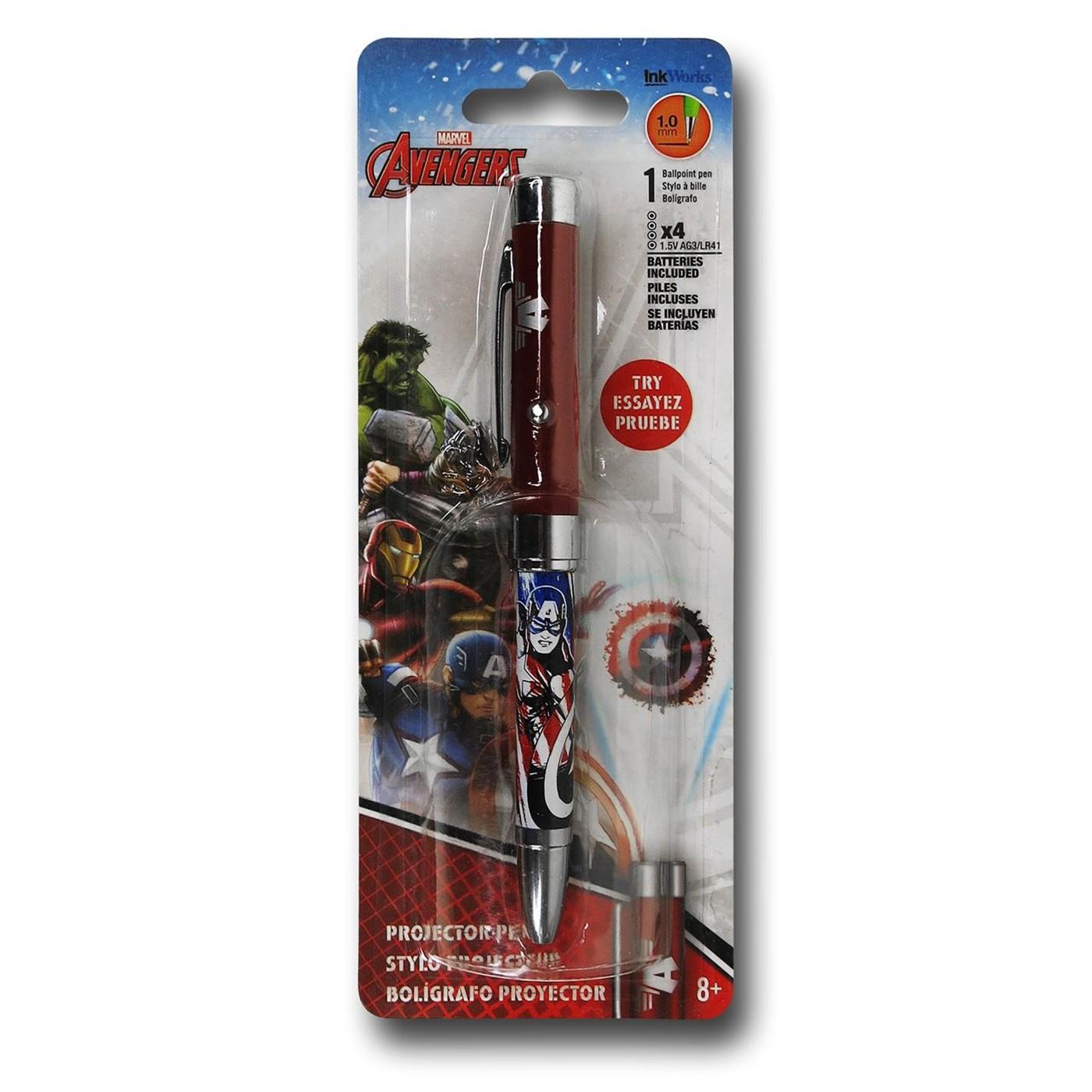 Captain America Avengers Assemble Pen