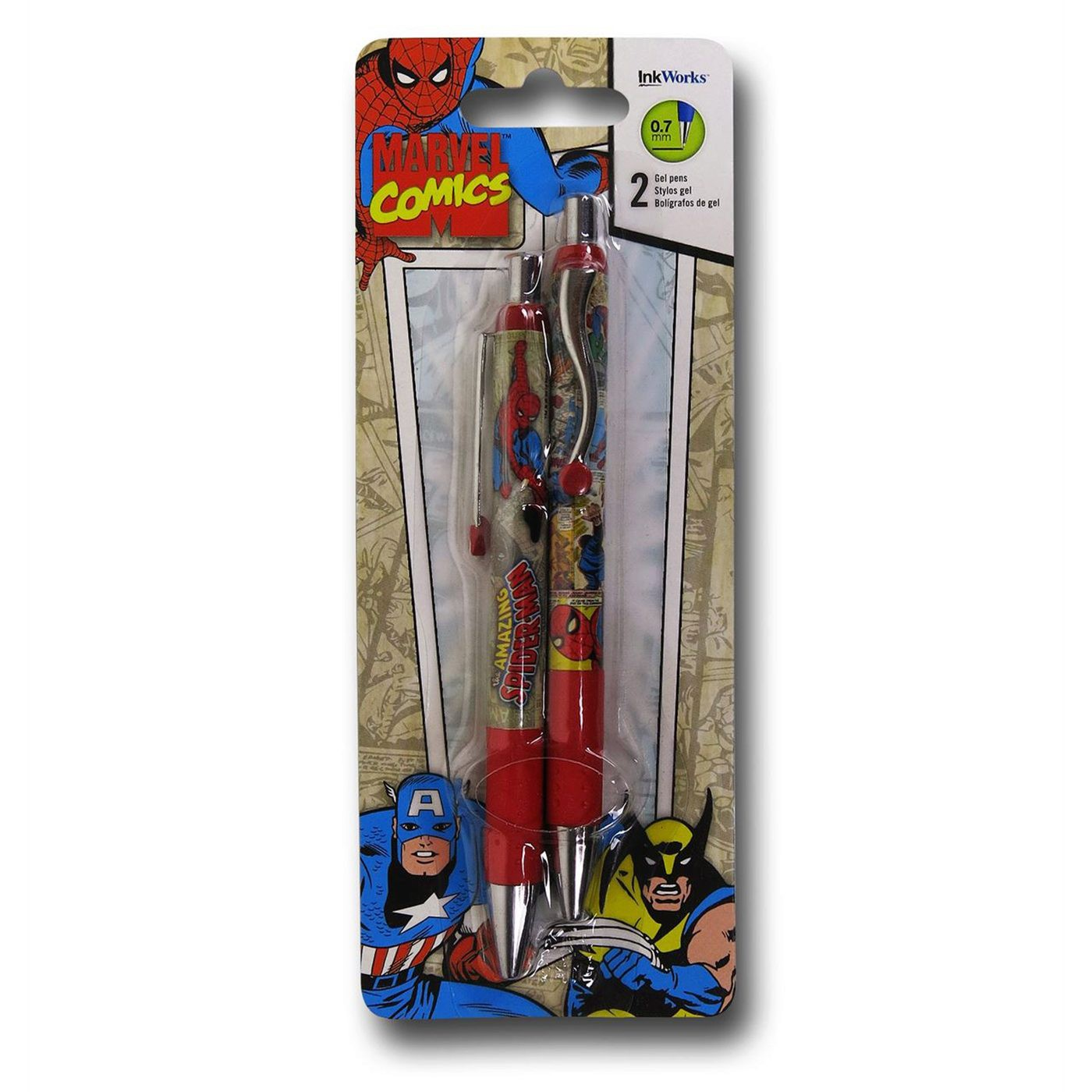 Spider-Man 2-Pack Pen Set
