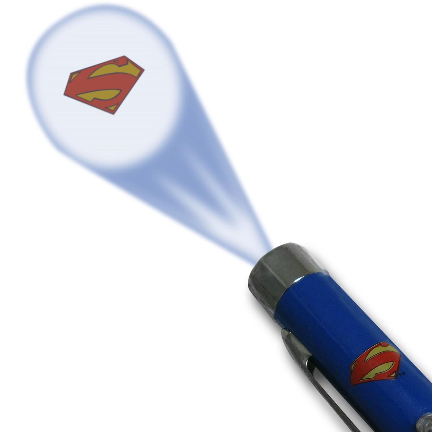 Superman Symbol Projector Pen