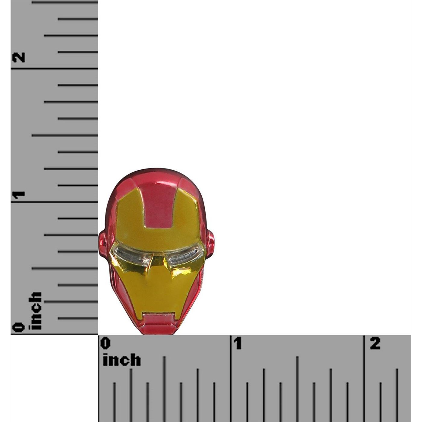 Iron Man Head Colored Lapel Pin