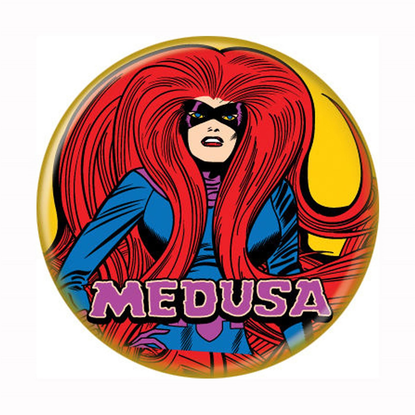 Medusa Classic Button