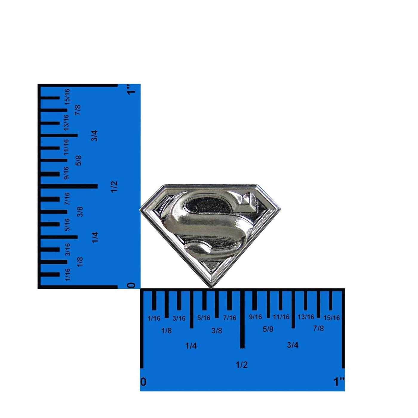 Superman Pewter Lapel Pin
