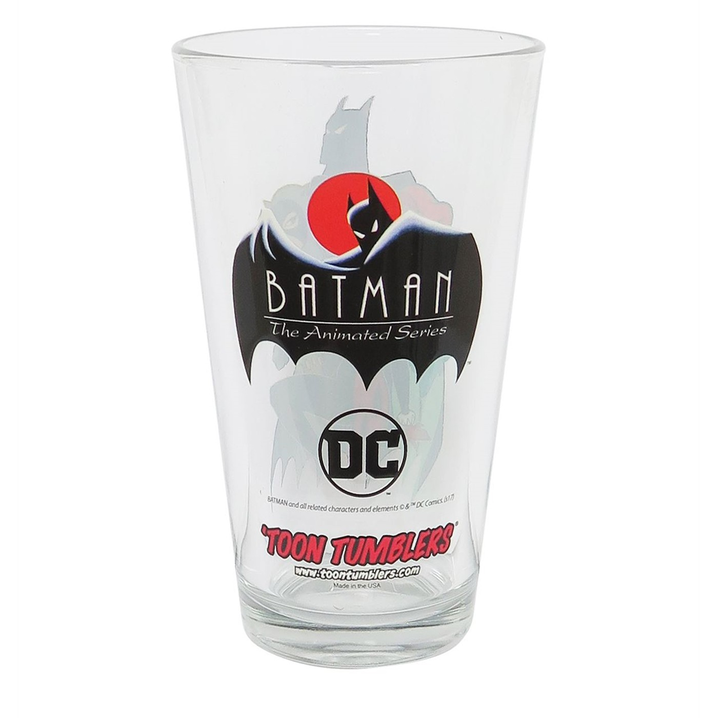 Batman Animated Gotham Sirens Pint Glass