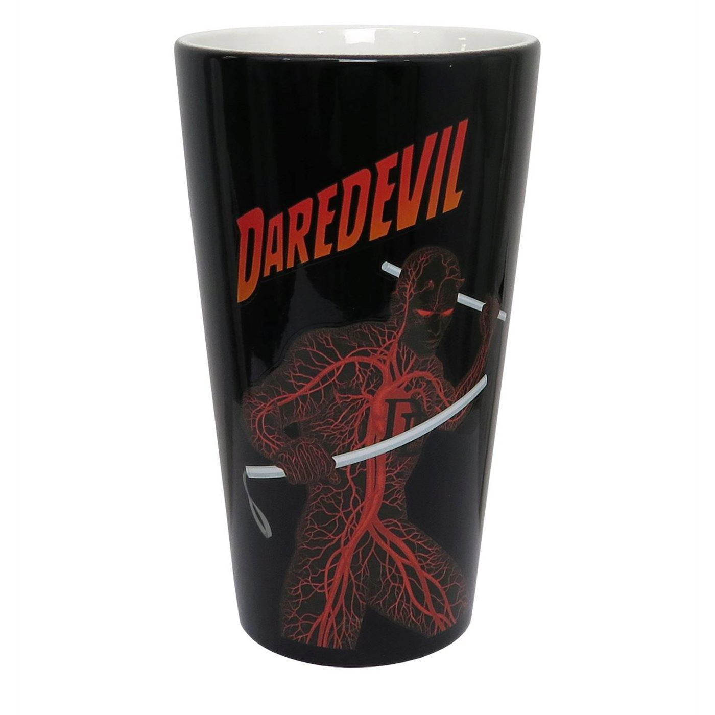 Daredevil The Man Without Fear Pint Glass
