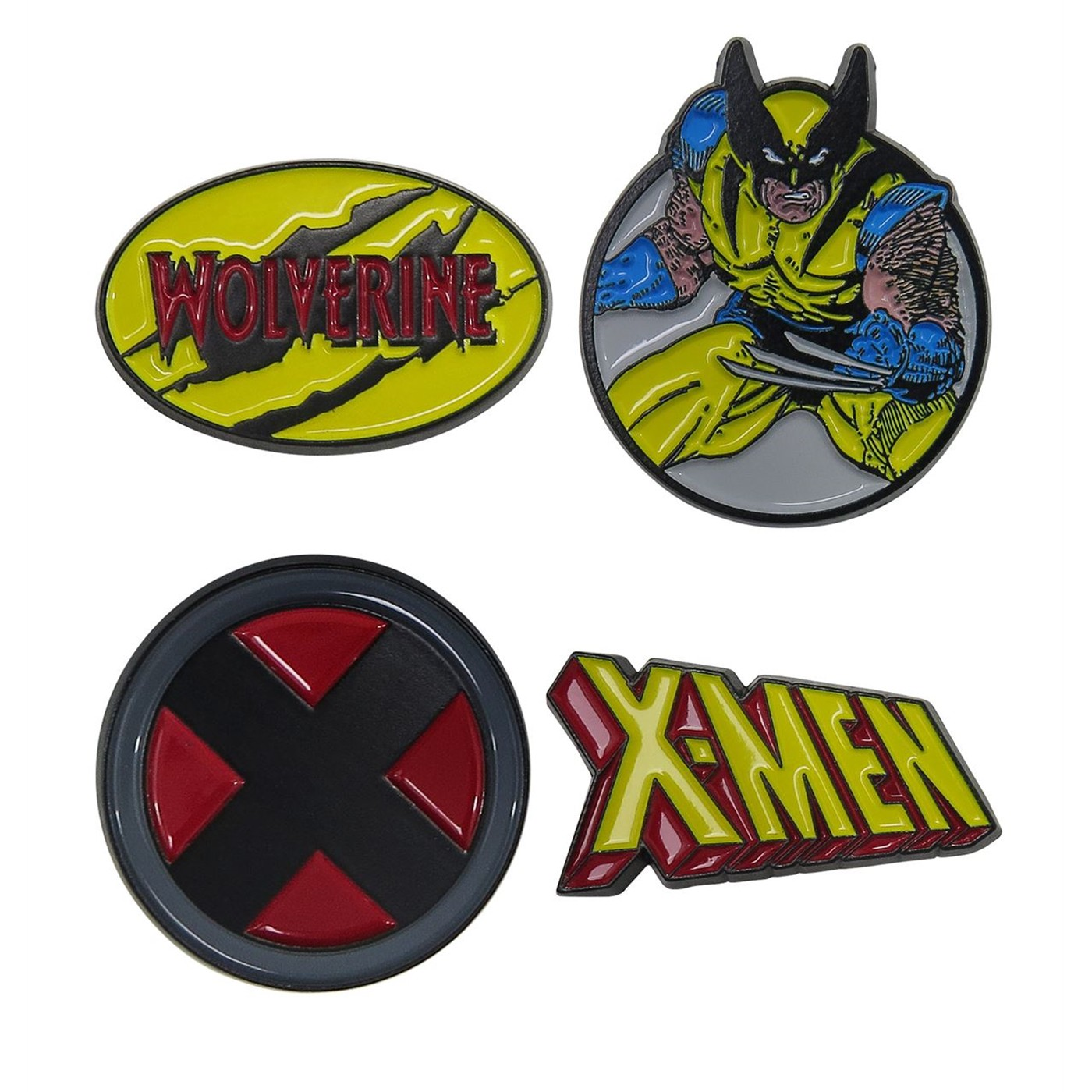 Wolverine & The X-Men Lapel Pin Set of 4