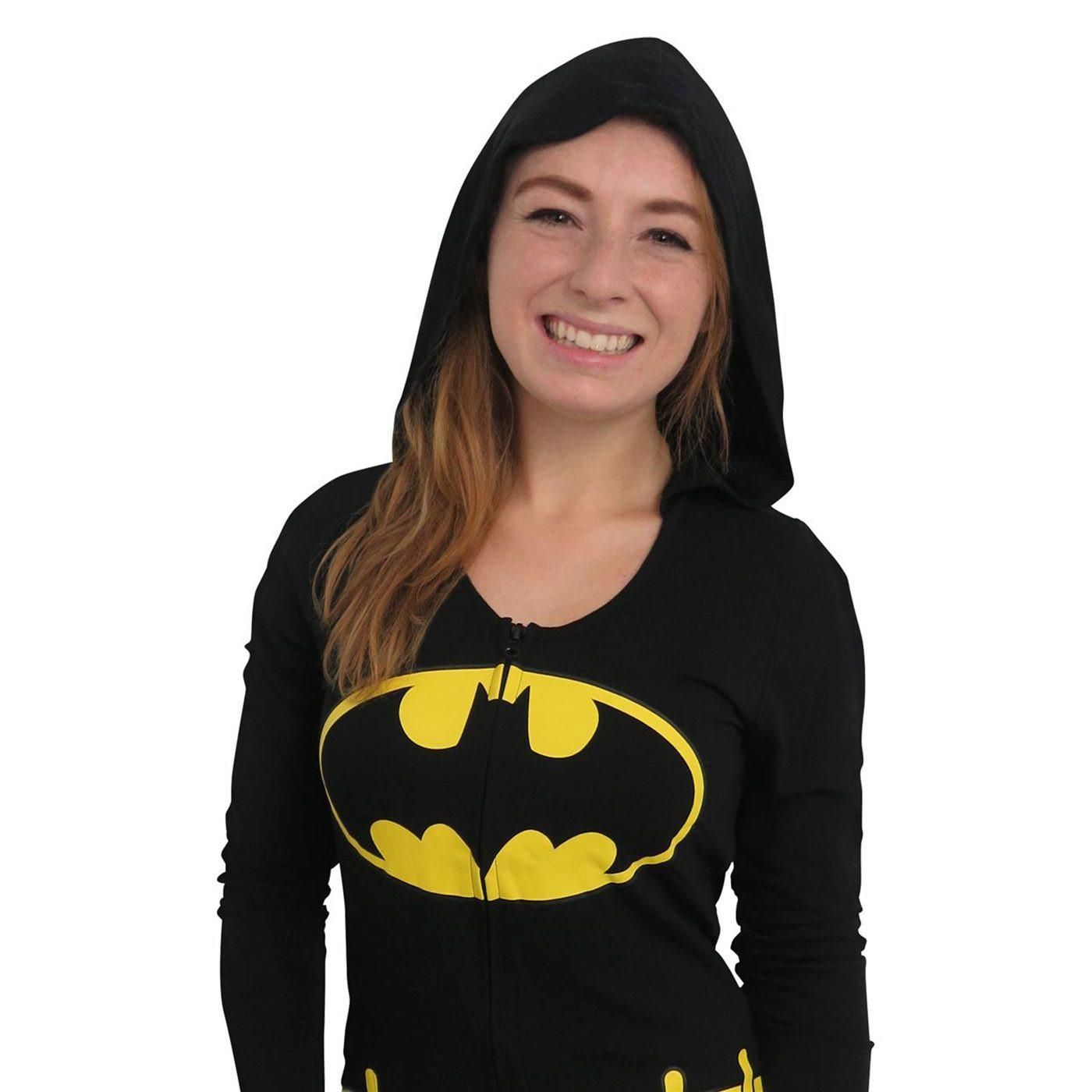 Batman Costume Women's Romper