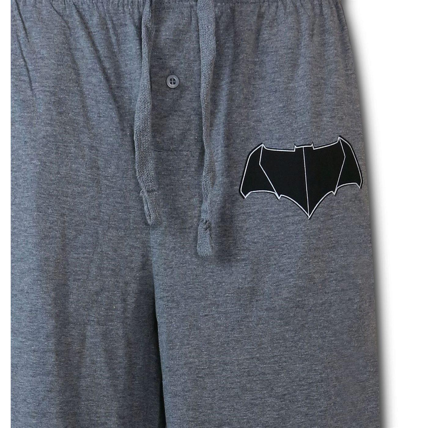 Batman V Superman Batman Symbol Men's Pajama Pants