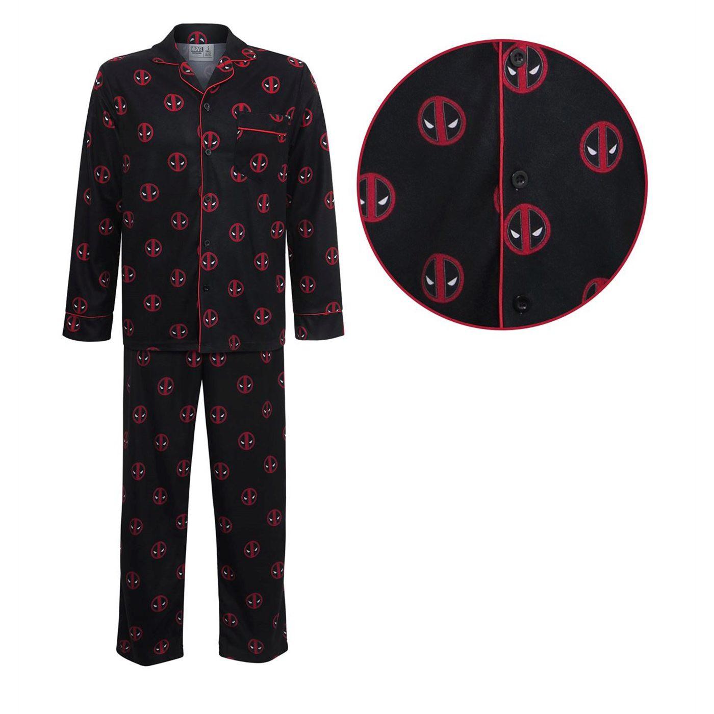 Deadpool All-Over Print Pajama Set