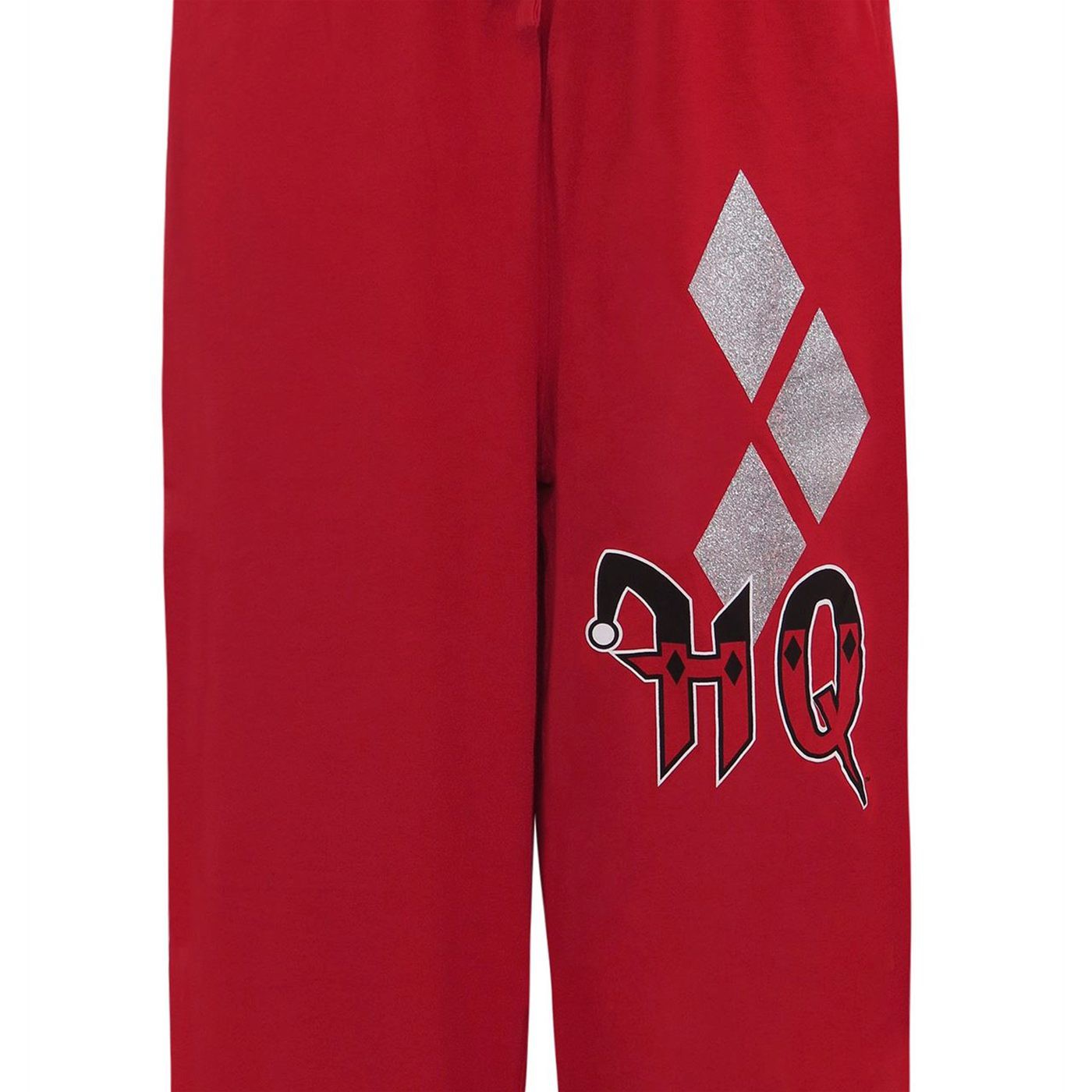 Harley Quinn Glitter Diamonds Unisex Pajama Sleep Pants