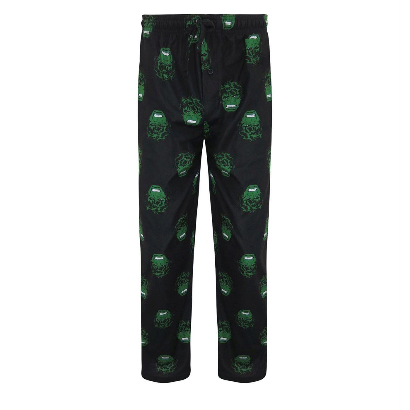 Hulk All-Over Print Pajama Set