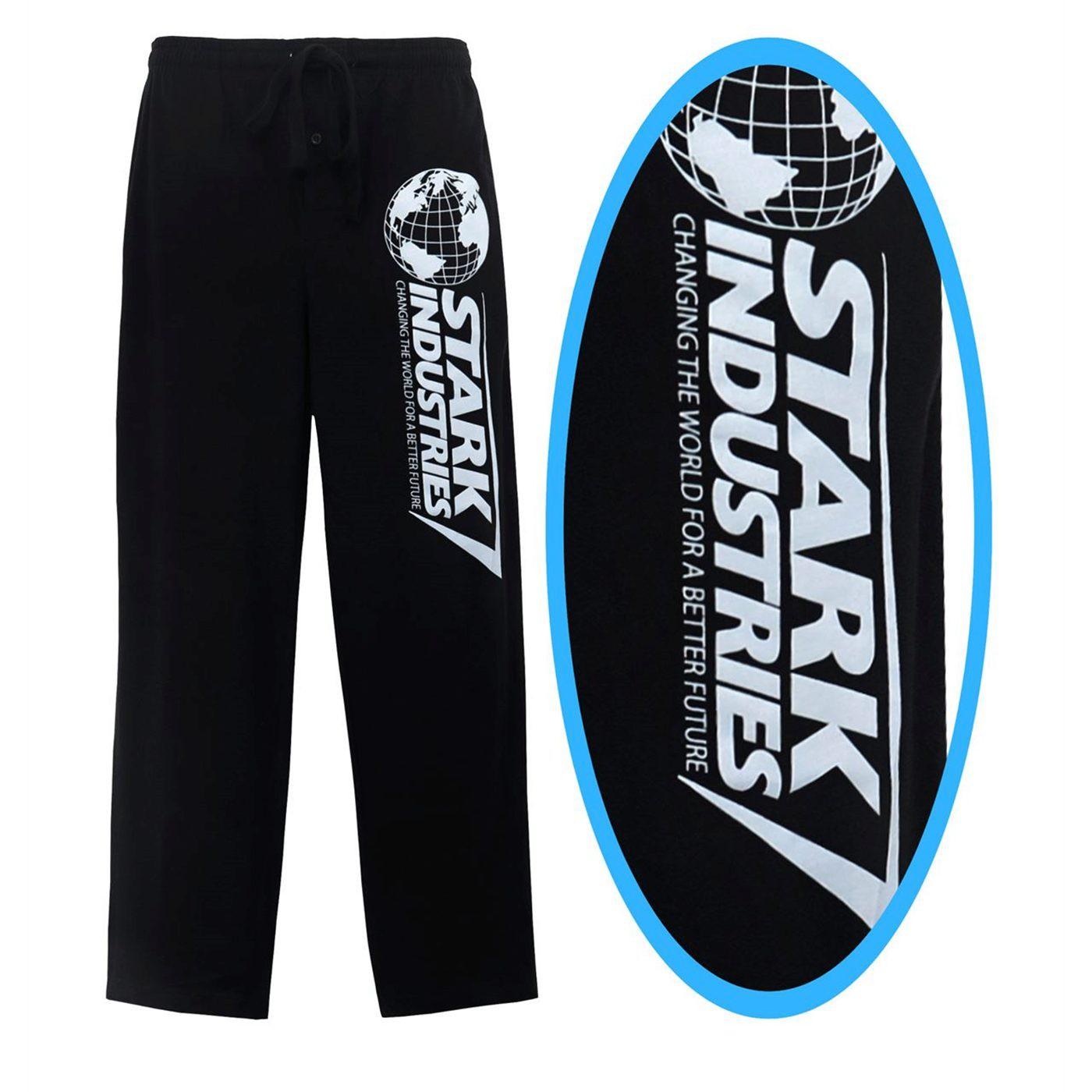 Iron Man Stark Industries Logo Men's Pajama Pants