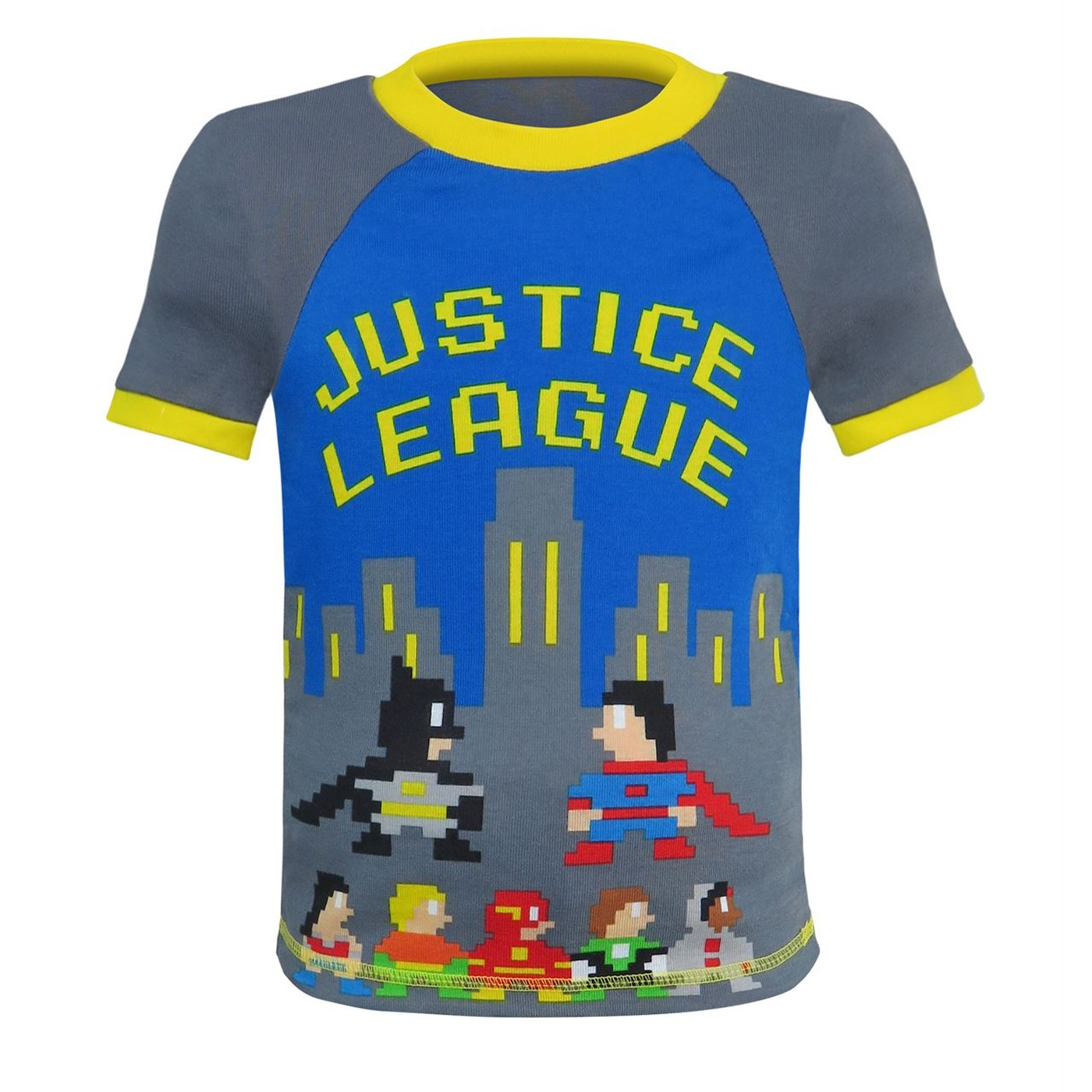 Justice League & Batman Toddler 4 Piece Pajama Set