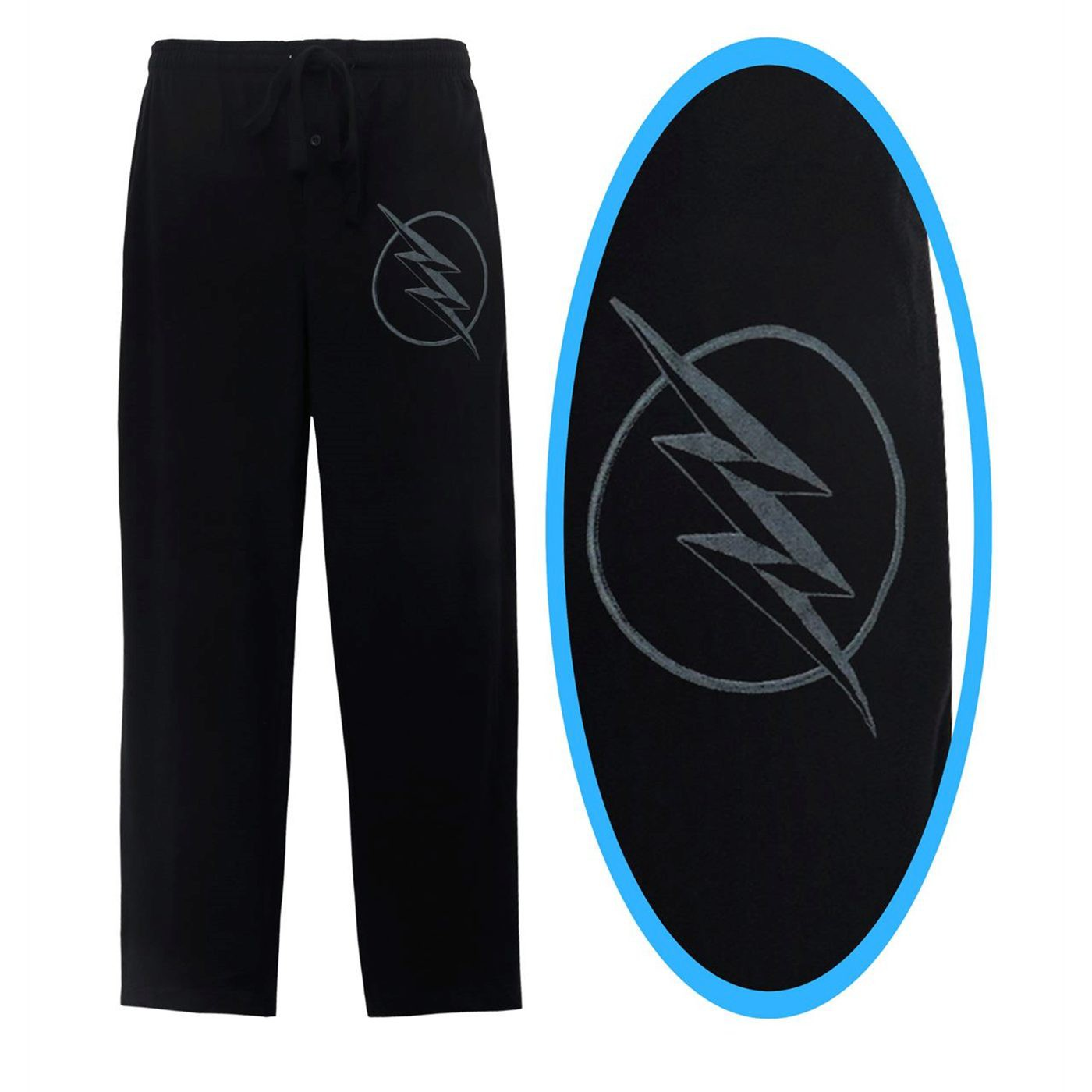 Flash TV Series Zoom Symbol Men's Pajama Pants