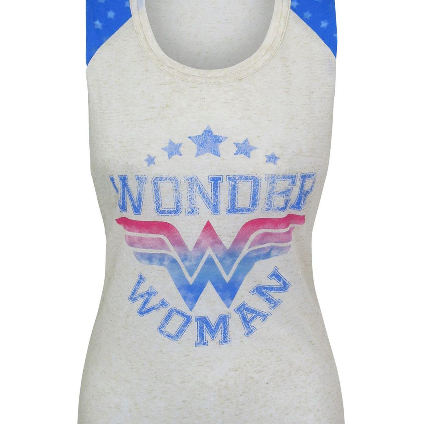 Wonder Woman Symbol & Logo Women's Sleep Tank
